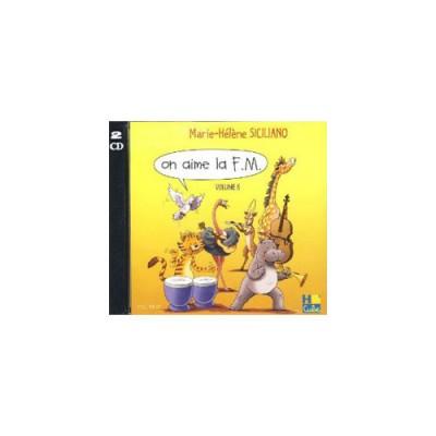 H. CUBE SICILIANO M. H. - ON AIME LA F.M. VOL. 6 - CD