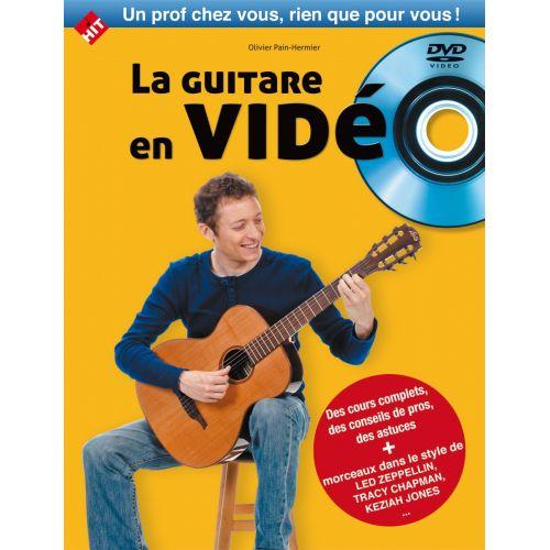 HIT DIFFUSION PAIN-HERMIER O. -LA GUITARE EN VIDEO LIVRE + DVD - GUITARE