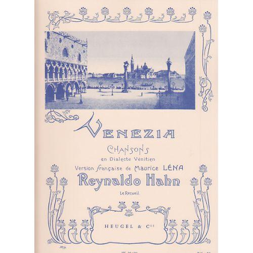 LEDUC HAHN R. - VENEZIA - CHANT/PIANO