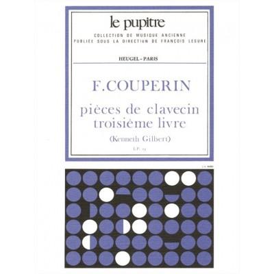 HEUGEL COUPERIN F. - PIECES DE CLAVECIN - LIVRE 3