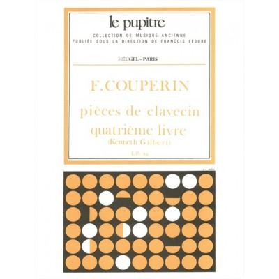HEUGEL COUPERIN F. - PIECES DE CLAVECIN - LIVRE 4