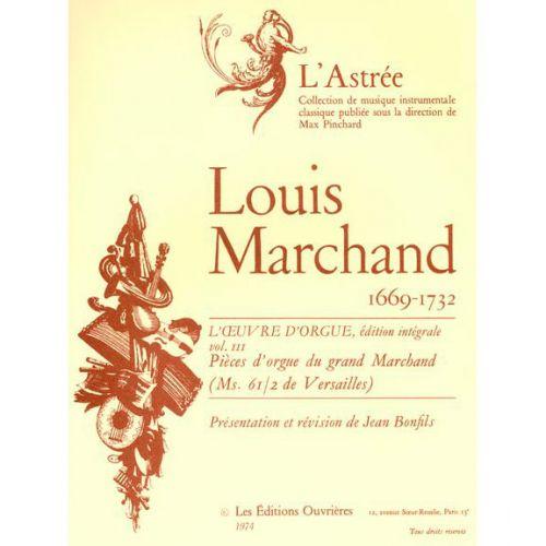 LEDUC MARCHAND L. - L'OEUVRE D'ORGUE VOL.3