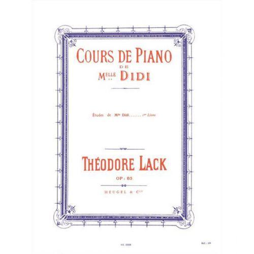 Heugel lack th cours de piano de mlle didi etudes vol - Cours de piano montpellier ...