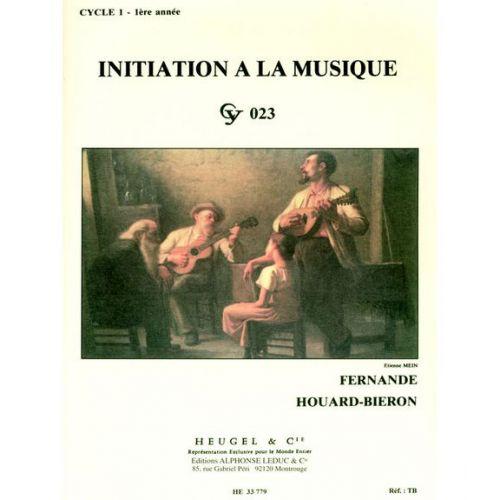 HEUGEL FERNANDE HOUARD-BIERON - INITIATION A LA MUSIQUE