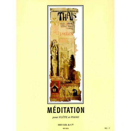 HEUGEL MASSENET J. - MEDITATION DE THAIS - FLUTE ET PIANO