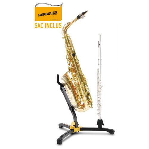 HERCULES STANDS ALTO / TENOR SAX & FLUTE / CLARINET STAND DS532B