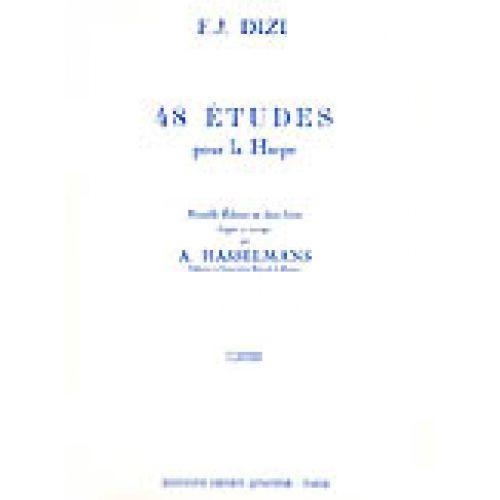 LEMOINE DIZI F.J. - ETUDES (48) VOL.1 - HARPE