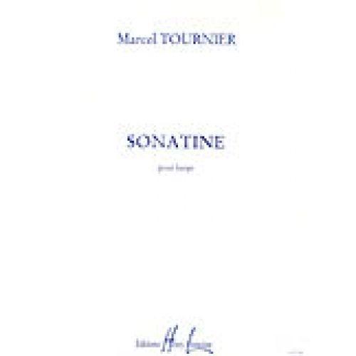 LEMOINE TOURNIER MARCEL - SONATINE OP.30 - HARPE