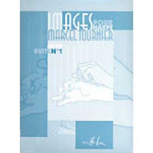 LEMOINE TOURNIER MARCEL - IMAGES : SUITE N°1 OP.29 - HARPE