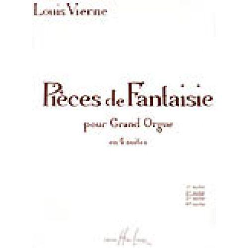 LEMOINE VIERNE LOUIS - PIECES DE FANTAISIE OP.53 SUITE N°2 - ORGUE