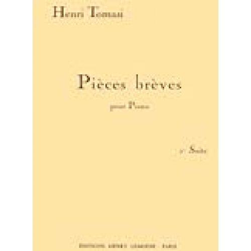 LEMOINE TOMASI HENRI - PIÈCES BRÈVES, SUITE N°1 - PIANO