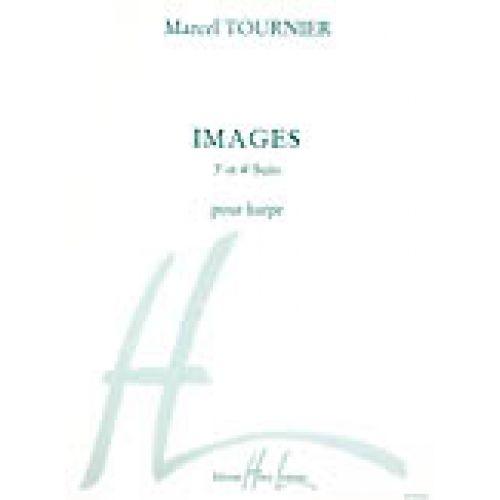 LEMOINE TOURNIER MARCEL - IMAGES : SUITE N°3 ET 4 - HARPE