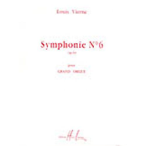 LEMOINE VIERNE LOUIS - SYMPHONIE N°6 OP.59 - ORGUE