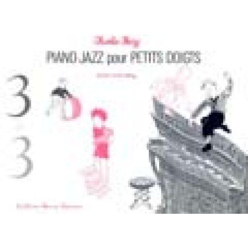 LEMOINE CHARLES-HENRY - 3 + 3 - 4 MAINS JAZZ - PIANO JAZZ