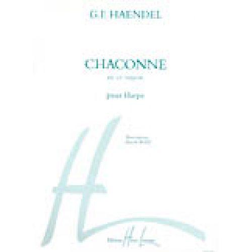 LEMOINE HAENDEL G.F. - CHACONNE - HARPE