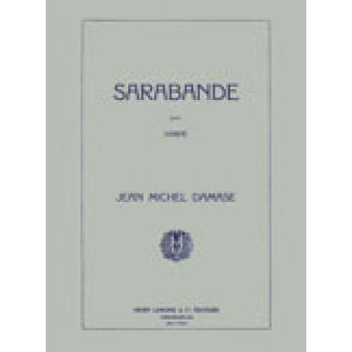LEMOINE DAMASE JEAN-MICHEL - SARABANDE OP.8 - HARPE