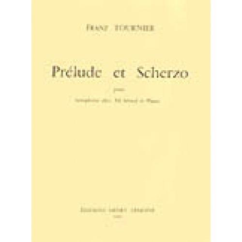 LEMOINE TOURNIER FRANZ - PRÉLUDE ET SCHERZO - SAXOPHONE, PIANO