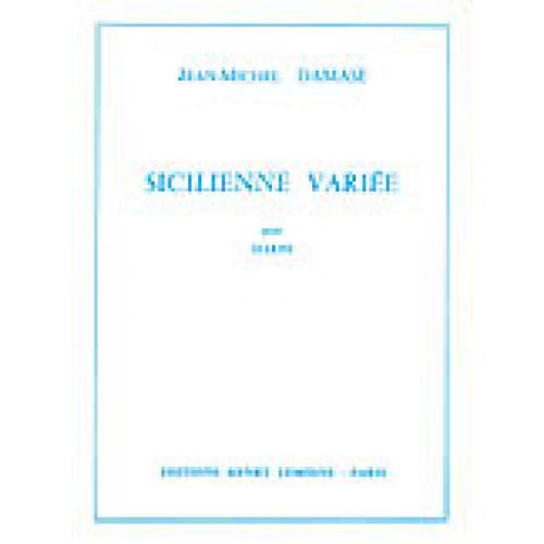 LEMOINE DAMASE JEAN-MICHEL - SICILIENNE VARIEE - HARPE