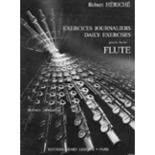 LEMOINE HERICHE ROBERT - EXERCICES JOURNALIERS - FLUTE