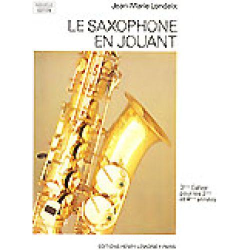 LEMOINE LONDEIX J.M. - SAXOPHONE EN JOUANT VOL.3 - SAXOPHONE