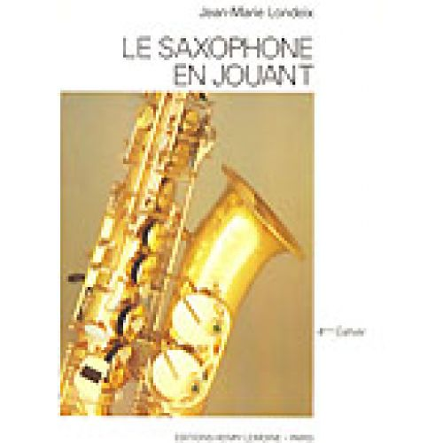 LEMOINE LONDEIX J.M. - SAXOPHONE EN JOUANT VOL.4 - SAXOPHONE