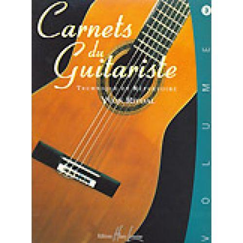 LEMOINE RIVOAL YVON - CARNETS DU GUITARISTE VOL.3
