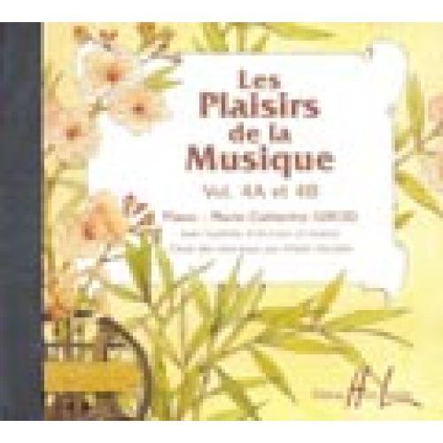 LEMOINE LES PLAISIRS DE LA MUSIQUE VOL.4A ET 4B - CD SEUL - PIANO