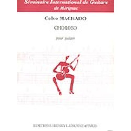 LEMOINE MACHADO CELSO - CHOROSO - GUITARE