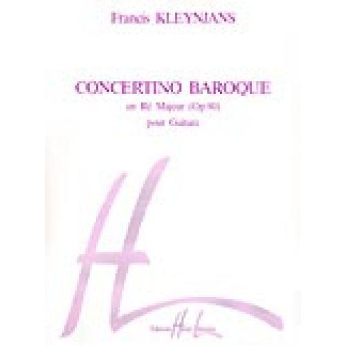 LEMOINE KLEYNJANS FRANCIS - CONCERTINO BAROQUE HOMMAGE À VIVALDI OP.80 - GUITARE
