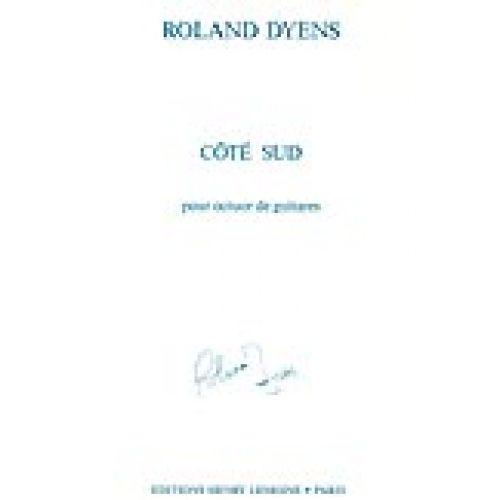 LEMOINE DYENS ROLAND - COTE SUD - OCTUOR DE GUITARES