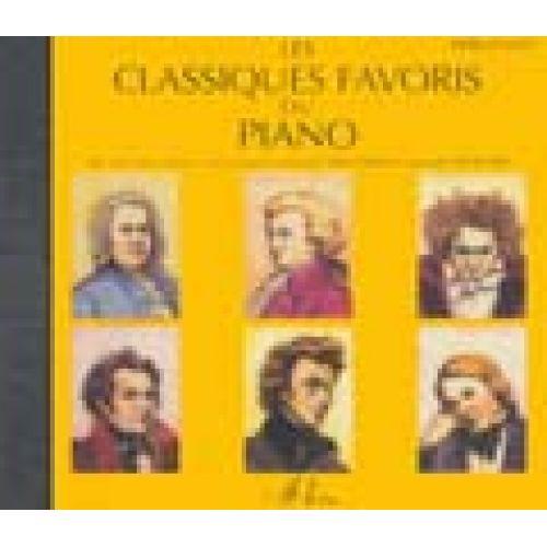 LEMOINE CLASSIQUES FAVORIS VOL.DEBUTANTS - CD SEUL - PIANO