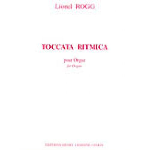 LEMOINE ROGG LIONEL - TOCCATA RITMICA - ORGUE