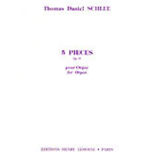 LEMOINE SCHLEE THOMAS DANIEL - PIECES (5) OP.29 - ORGUE
