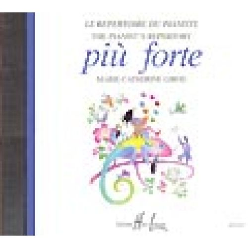 LEMOINE QUONIAM BEATRICE - PIU FORTE - CD SEUL - PIANO