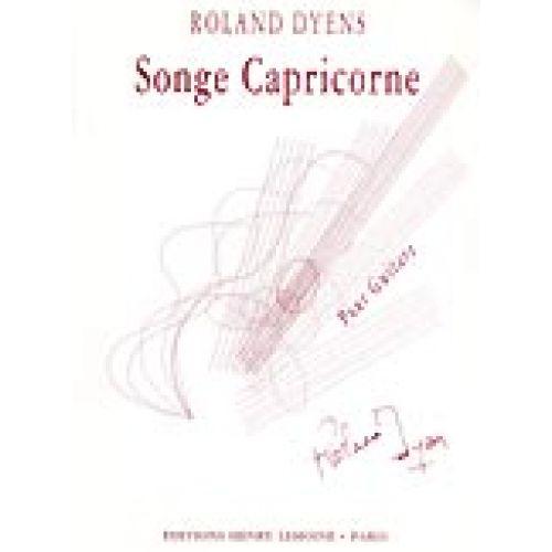LEMOINE DYENS ROLAND - SONGE CAPRICORNE - GUITARE