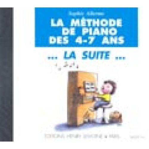 LEMOINE ALLERME SOPHIE - METHODE DE PIANO LA SUITE - CD SEUL - PIANO