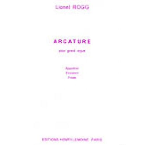 LEMOINE ROGG LIONEL - ARCATURE - ORGUE