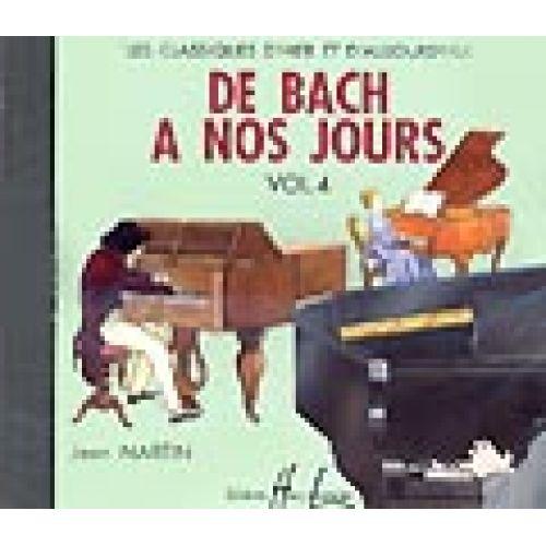 LEMOINE HERVE C./ POUILLARD J. - DE BACH A NOS JOURS VOL.4 - CD SEUL - PIANO