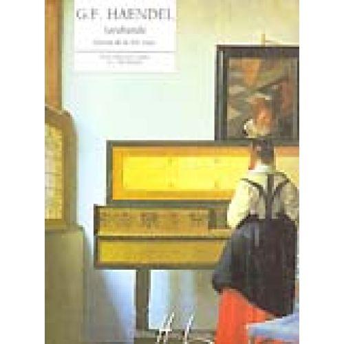 LEMOINE HAENDEL G.F. - SARABANDE DE LA XIEME SUITE - PIANO