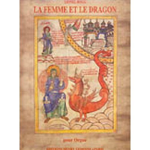 LEMOINE ROGG LIONEL - FEMME ET DRAGON / CITÉ CÉLESTE - 2 VISIONS DE... - ORGUE