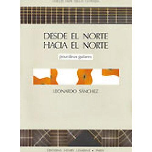 LEMOINE SANCHEZ L. - DESDE EL NORTE HACIA EL NORTE - 2 GUITARES