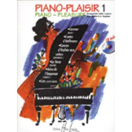 LEMOINE HEUMANN H.G. - PIANO-PLAISIR VOL.1 + CD - PIANO