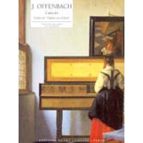 LEMOINE OFFENBACH JACQUES - CANCAN EXTRAIT D'ORPHÉE AUX ENFERS - PIANO