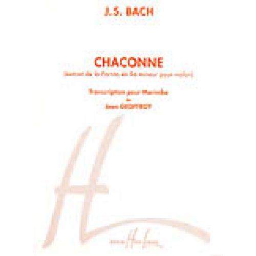 LEMOINE BACH J.S. - CHACONNE BWV1004 - MARIMBA