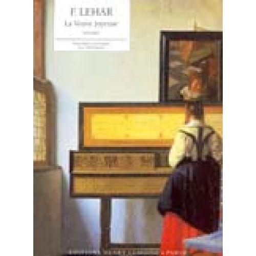 LEMOINE LEHAR FRANZ - VALSE EXTRAIT DE LA VEUVE JOYEUSE - PIANO