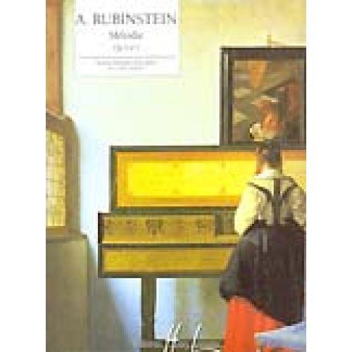 LEMOINE RUBINSTEIN ANTON - MELODIE OP.3 N°1 - PIANO