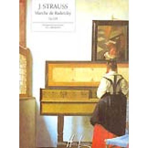 LEMOINE STRAUSS J. - MARCHE DE RADETZKY OP.228 - PIANO