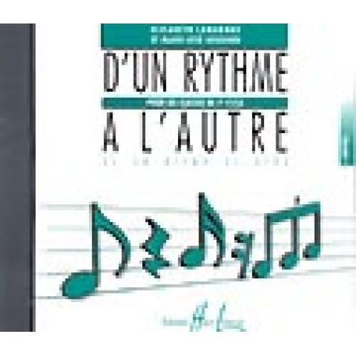 LEMOINE LAMARQUE E. / GOUDARD M.-J. - D'UN RYTHME À L'AUTRE 2 - CD SEUL