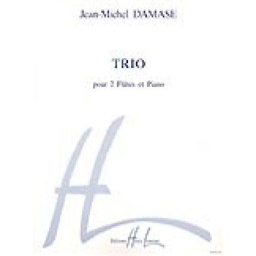 LEMOINE DAMASE JEAN-MICHEL - TRIO - 2 FLUTES, PIANO