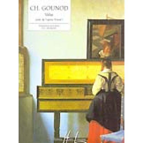 LEMOINE GOUNOD CHARLES - VALSE EXTRAIT DE FAUST - PIANO
